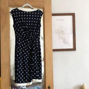 Ralph Lauren Polka Dot Party Dress